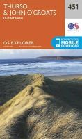 Ordnance Survey - Thurso and John O'Groats (OS Explorer Map) - 9780319246948 - V9780319246948