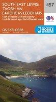 ORDNANCE SURVEY - South East Lewis/Taobh an Eardheas Leodhais (OS Explorer Map) - 9780319247082 - V9780319247082