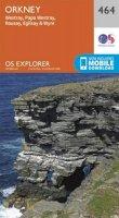 Ordnance Survey - Orkney - Westray, Papa Westray, Rousay, Egilsay and Wyre (OS Explorer Map) - 9780319247150 - V9780319247150