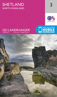 ORDNANCE SURVEY - Shetland - North Mainland (OS Landranger Map) - 9780319261019 - V9780319261019