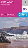 Ordnance Survey - Cape Wrath, Durness & Scourie (OS Landranger Map) - 9780319261071 - V9780319261071