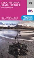 ORDNANCE SURVEY - Strathnaver, Bettyhill & Tongue (OS Landranger Map) - 9780319261088 - V9780319261088