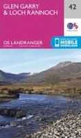 ORDNANCE SURVEY - Glen Garry & Loch Rannoch (OS Landranger Map) - 9780319261408 - V9780319261408