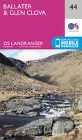 Ordnance Survey - Ballater, Glen Clova (OS Landranger Map) - 9780319261422 - V9780319261422