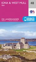 ORDNANCE SURVEY - Iona & West Mull, Ulva (OS Landranger Map) - 9780319261460 - V9780319261460