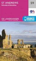 Ordnance Survey - St Andrews, Kirkcaldy & Glenrothes (OS Landranger Map) - 9780319261576 - V9780319261576