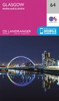 Ordnance Survey - Glasgow, Motherwell & Airdrie (OS Landranger Map) - 9780319261620 - V9780319261620