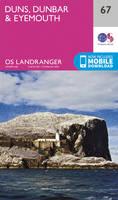 ORDNANCE SURVEY - Duns, Dunbar & Eyemouth (OS Landranger Map) - 9780319261651 - V9780319261651
