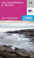 Ordnance Survey - Ayr, Kilmarnock & Troon (OS Landranger Map) - 9780319261682 - V9780319261682