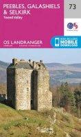 Ordnance Survey - Peebles, Galashiels & Selkirk, Tweed Valley (OS Landranger Map) - 9780319261712 - V9780319261712