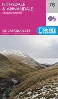 ORDNANCE SURVEY - Nithsdale & Annandale, Sanquhar & Moffat (OS Landranger Map) - 9780319261767 - V9780319261767