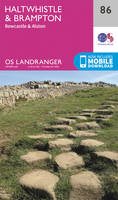 Ordnance Survey - Haltwhistle & Brampton, Bewcastle & Alston (OS Landranger Map) - 9780319261842 - V9780319261842
