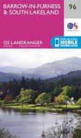 ORDNANCE SURVEY - Barrow-In-Furness & South Lakeland (OS Landranger Map) - 9780319261941 - V9780319261941