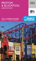 ORDNANCE SURVEY - Preston & Blackpool, Lytham (OS Landranger Map) - 9780319262009 - V9780319262009