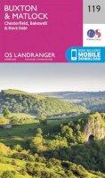 Ordnance Survey - Buxton & Matlock, Chesterfield, Bakewell & Dove Dale (OS Landranger Map) - 9780319262177 - V9780319262177