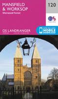 Ordnance Survey - Mansfield & Worksop, Sherwood Forest (OS Landranger Map) - 9780319262184 - V9780319262184