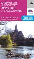 Ordnance Survey - Shrewsbury & Oswestry (OS Landranger Map) - 9780319262245 - V9780319262245