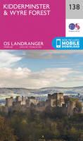 ORDNANCE SURVEY - Kidderminster & Wyre Forest (OS Landranger Map) - 9780319262368 - V9780319262368