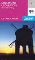 Ordnance Survey - Stratford-Upon-Avon, Warwick & Banbury (OS Landranger Map) - 9780319262498 - V9780319262498