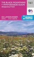 Ordnance Survey - The Black Mountains (OS Landranger Map) - 9780319262597 - V9780319262597