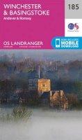 ORDNANCE SURVEY - Winchester & Basingstoke, Andover & Romsey (OS Landranger Map) - 9780319262832 - V9780319262832