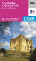 ORDNANCE SURVEY - Aldershot & Guildford, Camberley & Haslemere (OS Landranger Map) - 9780319262849 - V9780319262849