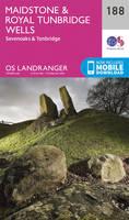 Ordnance Survey - Maidstone & Royal Tunbridge Wells (OS Landranger Map) - 9780319262863 - V9780319262863