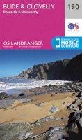 Ordnance Survey - Bude & Clovelly, Boscastle & Holsworthy (OS Landranger Map) - 9780319262887 - V9780319262887