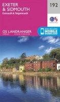 Ordnance Survey - Exeter & Sidmouth, Exmouth & Teignmouth (OS Landranger Map) - 9780319262900 - V9780319262900