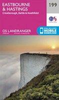 Ordnance Survey - Eastbourne & Hastings, Battle & Heathfield (OS Landranger Map) - 9780319262979 - V9780319262979