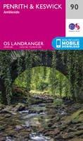 Ordnance Survey - Penrith & Keswick (OS Landranger Map) - 9780319263372 - V9780319263372