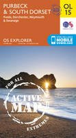 Ordnance Survey - Purbeck & South Dorset, Poole, Dorchester, Weymouth & Swanage (OS Explorer Map Active) - 9780319469330 - V9780319469330