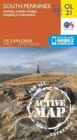 ORDNANCE SURVEY - South Pennines, Burnley, Hebden Bridge, Keighley & Todmorden (OS Explorer Map Active) - 9780319469392 - V9780319469392