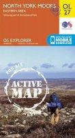 Ordnance Survey - North York Moors - Eastern Area (OS Explorer Map Active) - 9780319469453 - V9780319469453