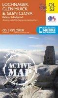 ORDNANCE SURVEY - Lochnagar, Glen Muick & Glen Clova, Ballater & Balmoral (OS Explorer Map Active) - 9780319469712 - V9780319469712