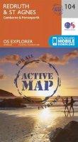Ordnance Survey - Redruth and St Agnes (OS Explorer Active Map) - 9780319469859 - V9780319469859