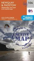 Ordnance Survey - Newquay and Padstow (OS Explorer Active Map) - 9780319469873 - V9780319469873