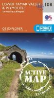 Ordnance Survey - Lower Tamar Valley and Plymouth (OS Explorer Active Map) - 9780319469897 - V9780319469897
