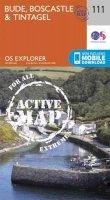 Ordnance Survey - Bude, Boscastle and Tintagel (OS Explorer Active Map) - 9780319469910 - V9780319469910
