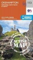 Ordnance Survey - Okehampton (OS Explorer Active Map) - 9780319469934 - V9780319469934