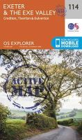 Ordnance Survey - Exeter and the Exe Valley (OS Explorer Active Map) - 9780319469941 - V9780319469941