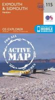 Ordnance Survey - Exmouth and Sidmouth (OS Explorer Active Map) - 9780319469958 - V9780319469958