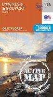 ORDNANCE SURVEY - Lyme Regis and Bridport (OS Explorer Active Map) - 9780319469965 - V9780319469965