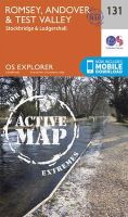 Ordnance Survey - Romsey, Andover and Test Valley (OS Explorer Active Map) - 9780319470060 - V9780319470060