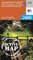 ORDNANCE SURVEY - Ashdown Forest (OS Explorer Active Map) - 9780319470077 - V9780319470077