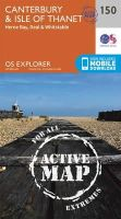 Ordnance Survey - Canterbury and the Isle of Thanet (OS Explorer Active Map) - 9780319470220 - V9780319470220