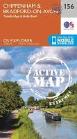 ORDNANCE SURVEY - Chippenham and Bradford-on-Avon (OS Explorer Active Map) - 9780319470282 - V9780319470282