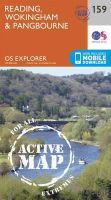 Ordnance Survey - Reading, Wokingham and Pangbourne (OS Explorer Active Map) - 9780319470312 - V9780319470312