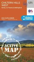 Ordnance Survey - Chiltern Hills West, Henley-on-Thames and Wallingford (OS Explorer Active Map) - 9780319470435 - V9780319470435