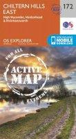 Ordnance Survey - Chiltern Hills East (OS Explorer Active Map) - 9780319470442 - V9780319470442